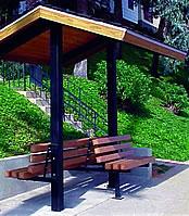 mini picnic shelters 2-post model