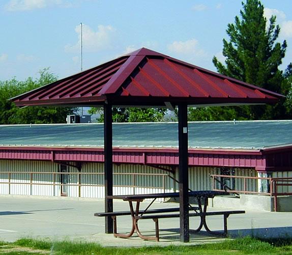 mini picnic shelters 2-posts