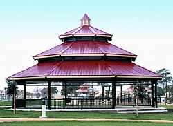 maryland picnic shelter installation