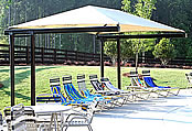 picnic shelters fabric