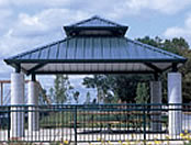 picnic shelters rectangle hip double