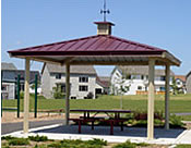 picnic shelters square